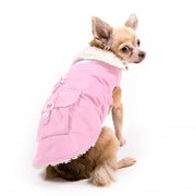 My Canine Kids | Cloak and Dawggie  Aspen Winter Dog Parka Coat Lined Small Dogs