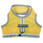 my canine kids yellow mesh vest style dog harness for teacup and small dogs my canine kids