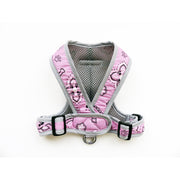 Pink Bandana Print Dog Harness XS Puppy Small Dog My Canine Kids