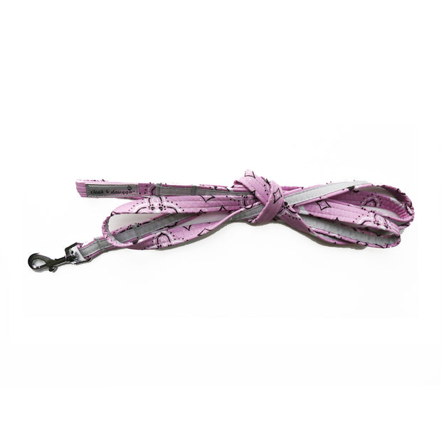 Pink Bandana Dog leash cloak & dawggie
