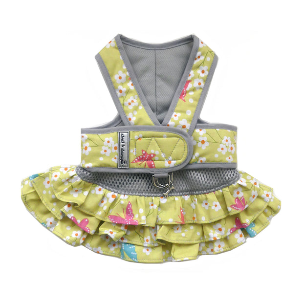 7150 Step n Go Harness Dress for Dogs Butterfly Print