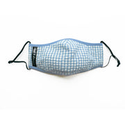 Cloak & Dawggie Face Mask Blue Gingham