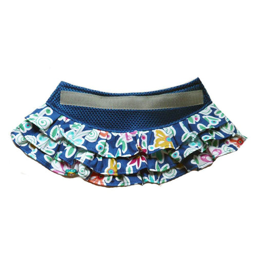 7103 Flirty Floral Blue Skirt for Step N Go Harness