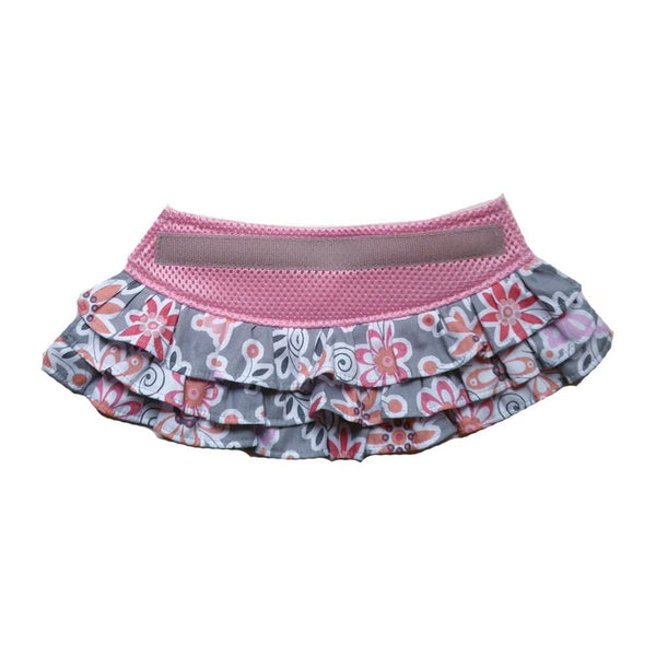 Cloak and Dawggie Pink printed Skirt for Step n Go Dog Harness My Canine Kids