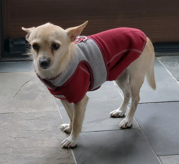 6960 Flannel Teacup Vest Harness Up to 8 LBS