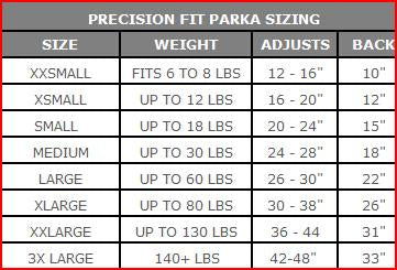 2275 Precision Fit Polar Parka