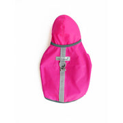 Teacup dog raincoat hot pink XXS waterproof coat cloak & dawggie