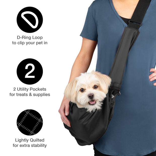 8702 Easy Walk Sport Pet Sling Carrier (8-12 LBS) Small Dog, Puppy