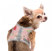 PInk Strawberry Teacup Harness