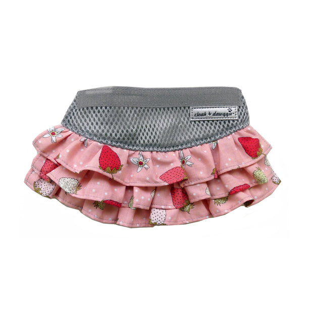7103 Flirty Strawberry Skirt for 7350 Teacup Strawberry Harness