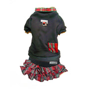7502 Holiday Tartan Plaid Dog Sweatshirt Up to 50 LBS
