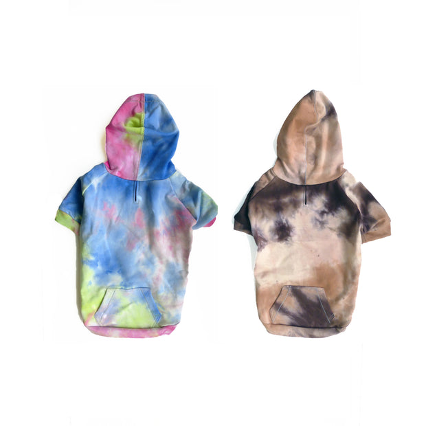 6550 Tie Dyed Hoodie All Size Dogs Up to 100+ LBS