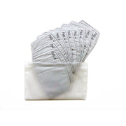 Fashion Face Mask Reusable PM2.5 Filter Replacement Pack