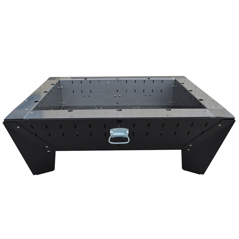 Rectangle Stand Alone Portable Fire Pit