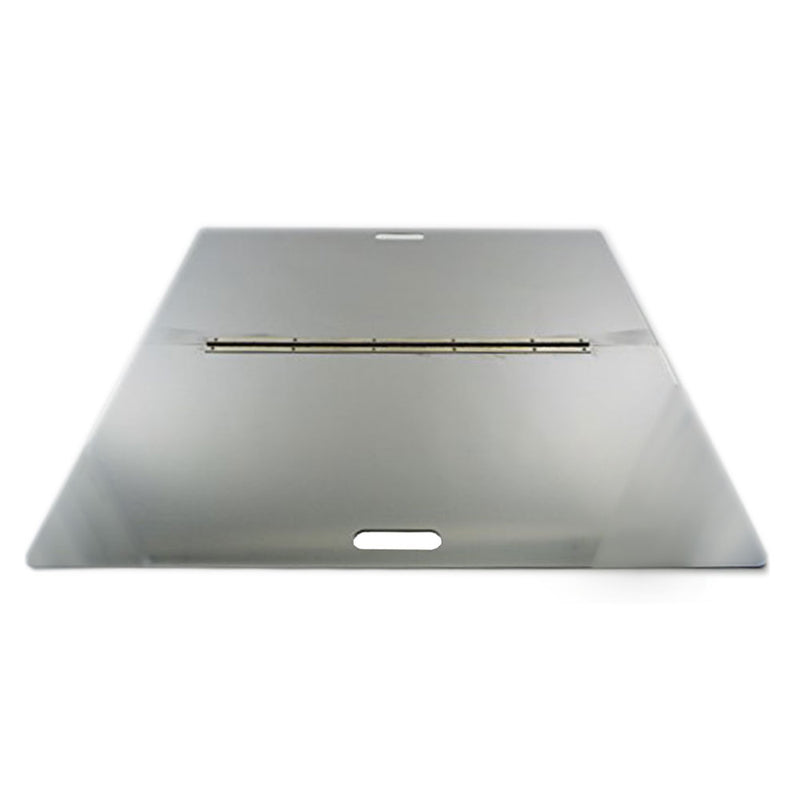 "Firebuggz 44"" x 32"" Rectangle Stainless Steel Fire Pit Snuffer, Cover"