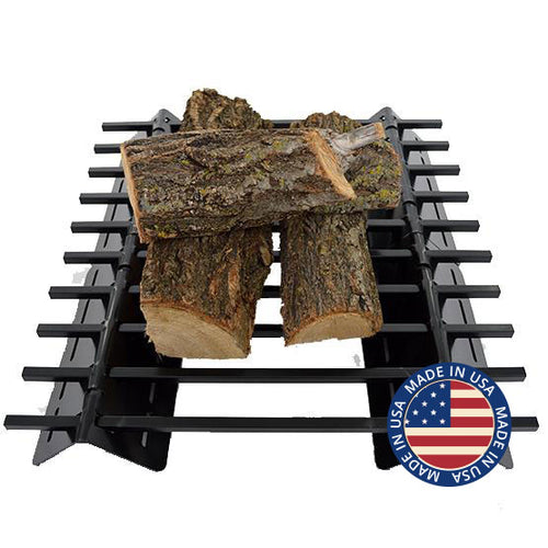 Wood Grate made in the United States by Firebuggz