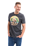 Triathlete with Kona Triathlon t-shirt