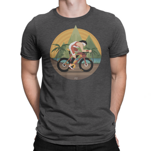 Kona Triathlete - Cycling T shirt Men