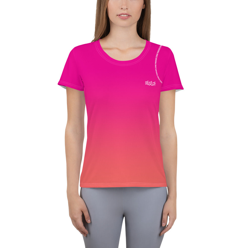 Technical Running Tshirt Gradient for Women