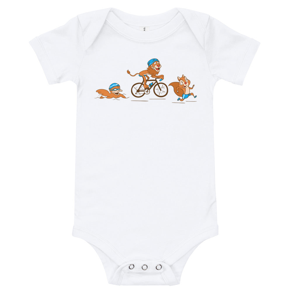 Team Relay Triathlon - Baby bodysuit