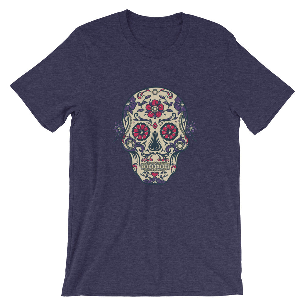 Cycling candy skull t shirt