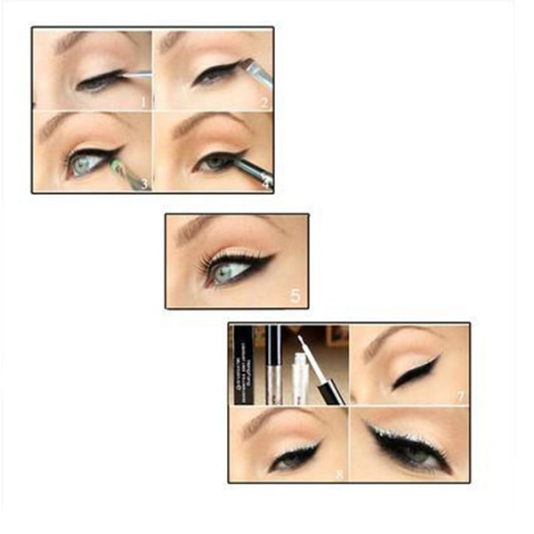 Eyeliner waterproof liquide et brillant longe tenue