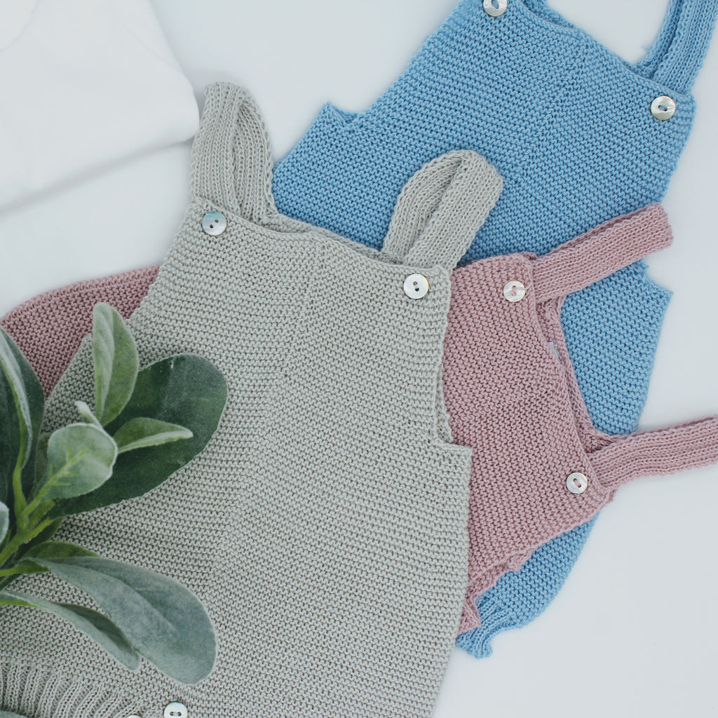 Knitted Romper Set
