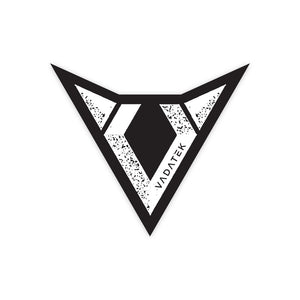 4x4 VADATEK STICKER- Black