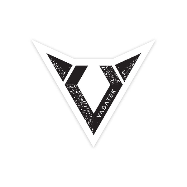 4x4 VADATEK STICKER- White