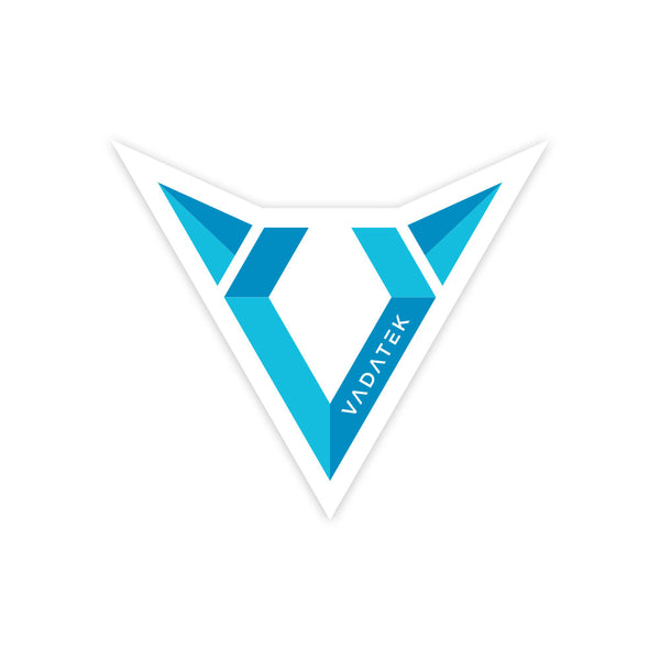 3x3 VADATEK STICKER- White
