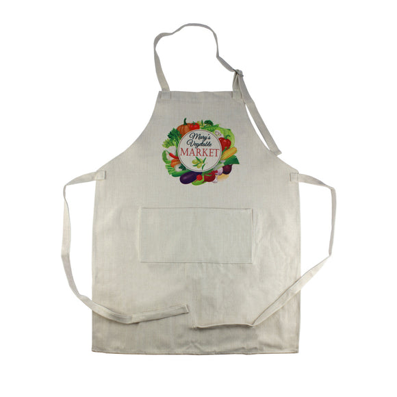 33x25 PolyLinen Apron with Large Pocket