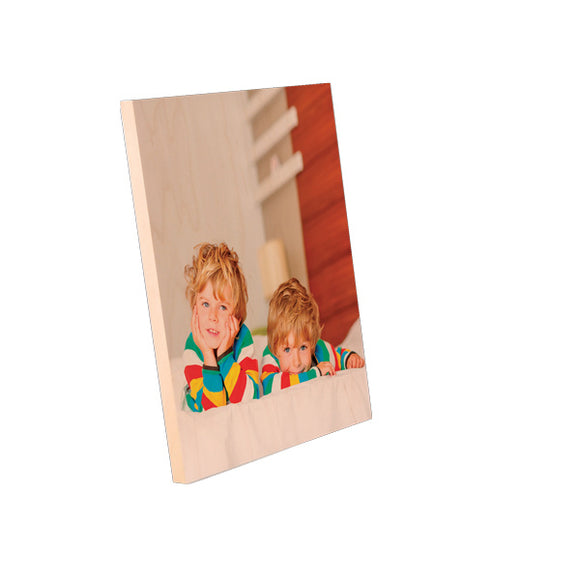 8x10 Natural Wood Photo Panel
