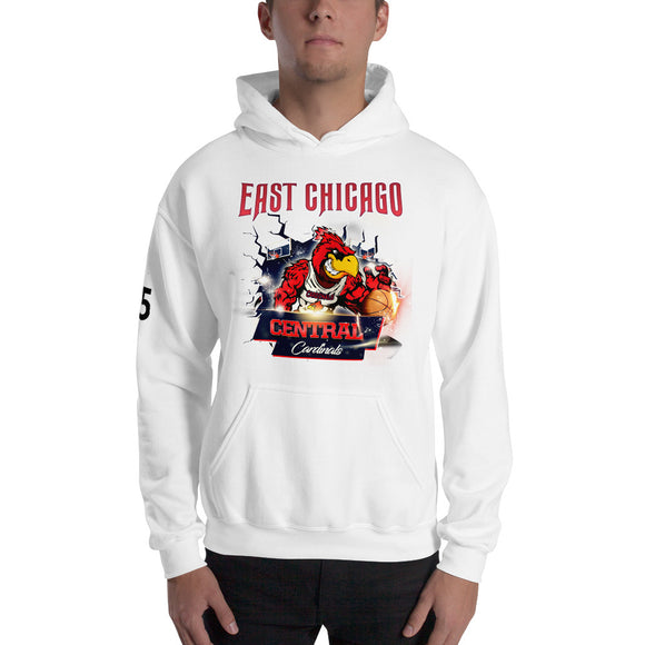 E.C. Cardinal Pull over Hoodie
