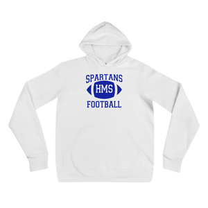 Spartans HMS Football Hooded Sweater