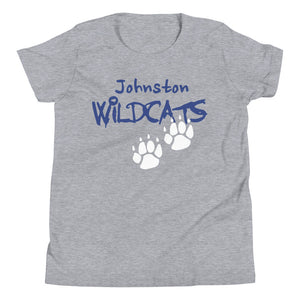 Tee  Johnston Wildcat Paw Logo