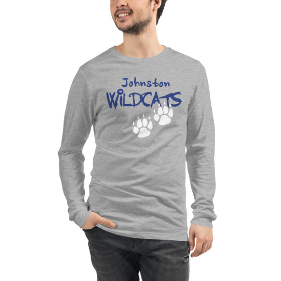 Long Sleeve Johnston Wildcat Paw Logo