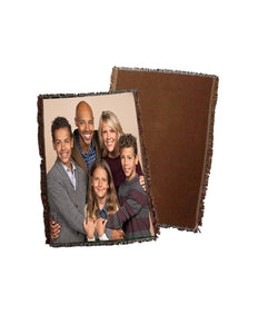 "Throw 54"" x 35""  Picture Perfect Personalized"