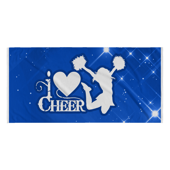 i Love Cheer Towel