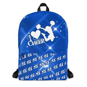 i love cheer Backpack
