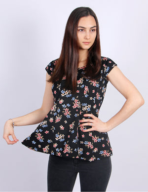 Lilly Cap Sleeve Top