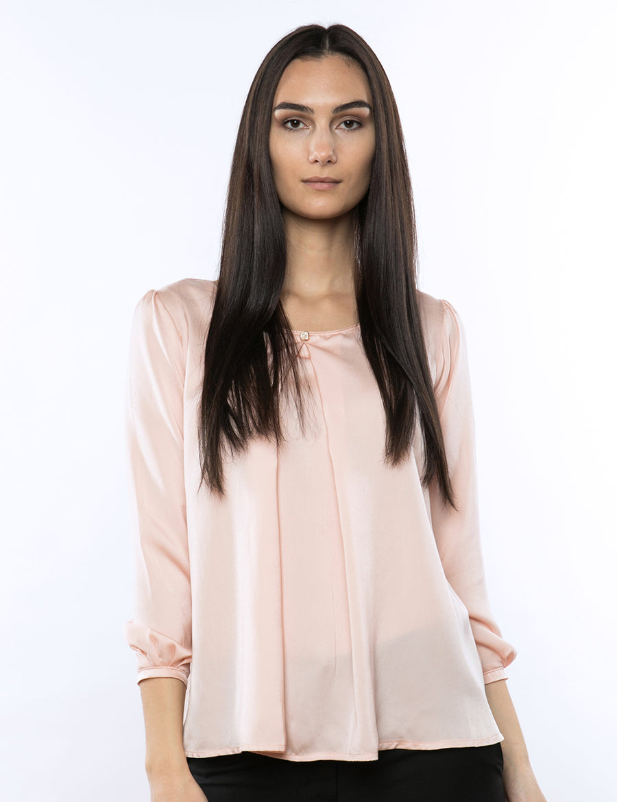 Sophie Pleated Blouse
