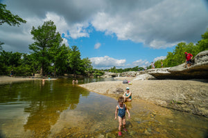 Easy Overnight Camping Trip to McKinney Falls