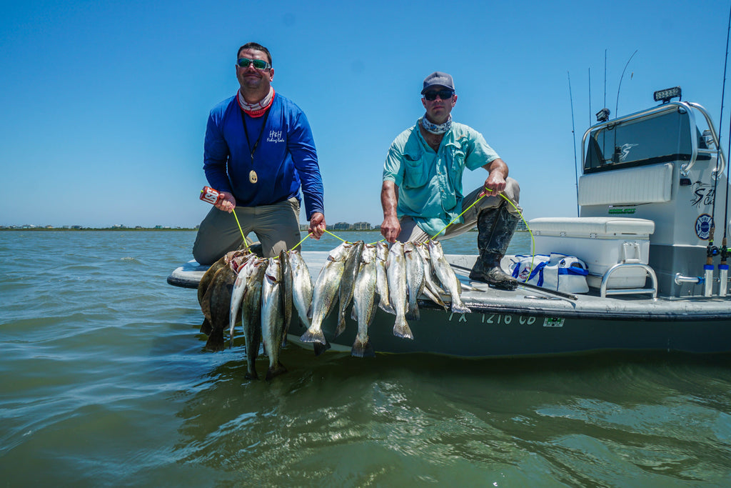 Lone Star Guide: Captain Jarrett Ledger Guide Service