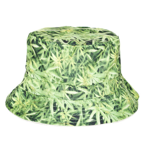 Original Green Flat Bucket Hat