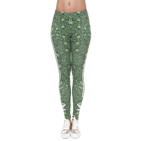 Addictive Green Leggings