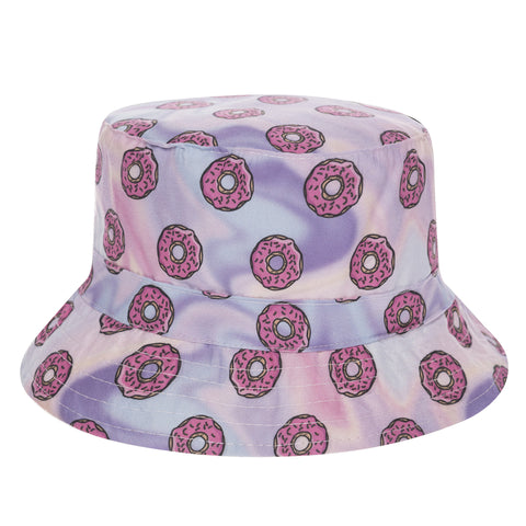Donut Haze Flat Bucket Hat