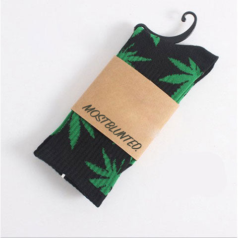 High Socks™ Crew Original Green Leaf