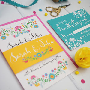 Bohemia Wedding Invitation Suite