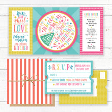 Load image into Gallery viewer, Carnival Wedding Invitation