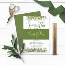 Load image into Gallery viewer, Evergreen Wedding Invitation Bundle
